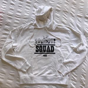 Levi's Peanuts white sweatshirt size Small